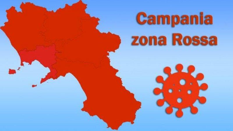 La Regione Campania resta in zona rossa