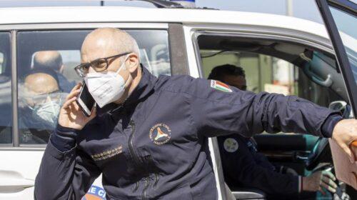 """Curcio (protezione civile): """"Siamo in guerra"""""""