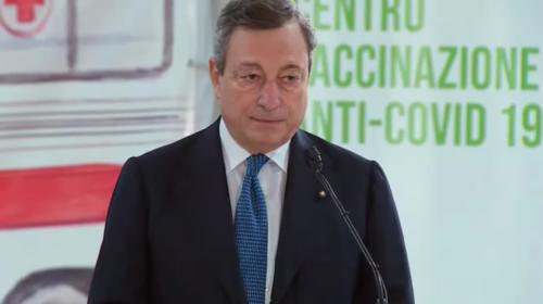 Vaccini, Draghi accelera: un milione di dosi Pfizer alle Regioni