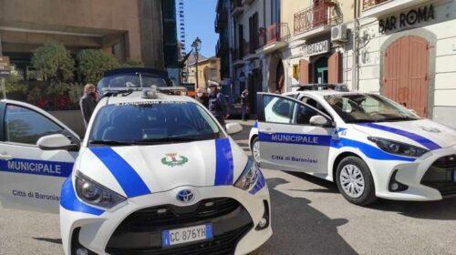 NUOVE AUTO ELETTRICHE ALLA POLIZIA MUNICIPALE DI BARONISSI