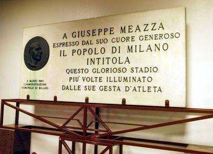 """Il 2 marzo del 1980 la """"Scala del Calcio"""" diventa stadio Giuseppe Meazza"""
