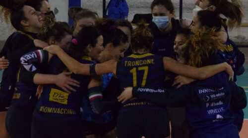 La Salerno Guiscards si aggiudica un anticipo dei play off con la Volley Project Pontecagnano