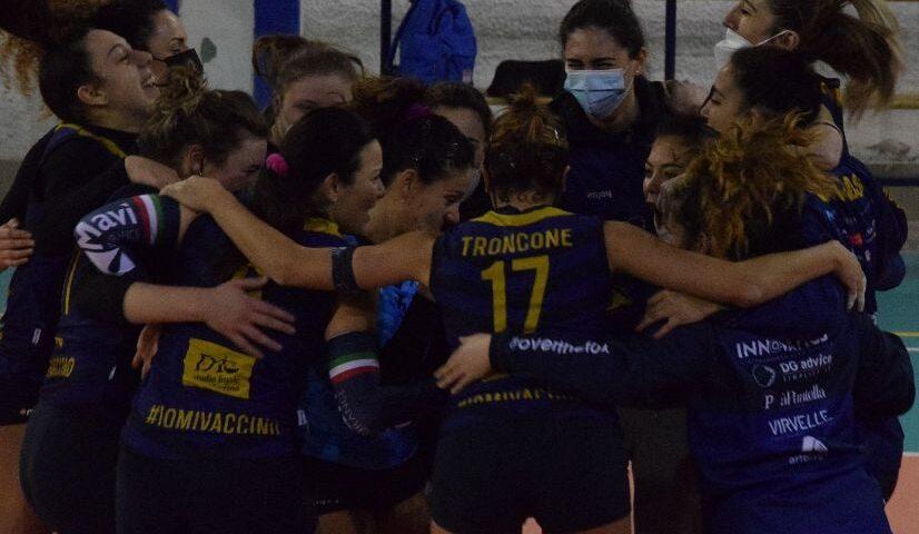 La Salerno Guiscards si aggiudica un anticipo dei play off con la Volley Project Pontecagnano