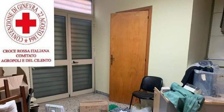 Agropoli, furto nella sede della Croce Rossa: rubati abiti di bambini bisognosi