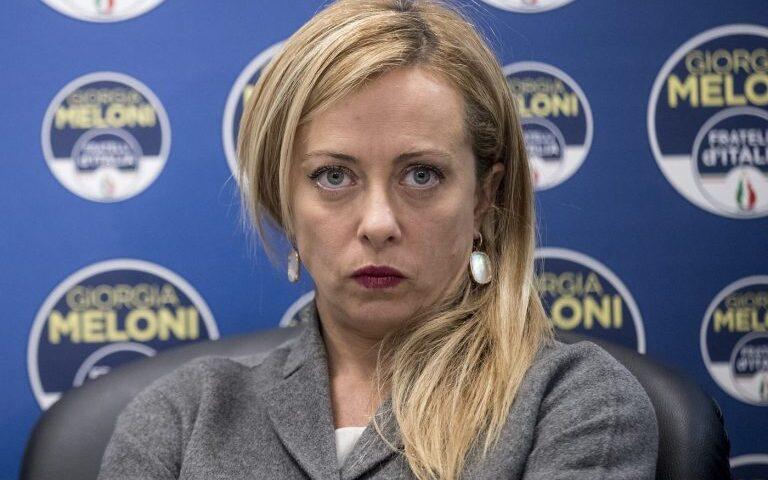 """MELONI: """"COVID, ITALIA FERMA A UN ANNO FA"""""""