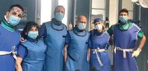Importante intervento di chirurgia vertebrale all'ospedale di Sapri