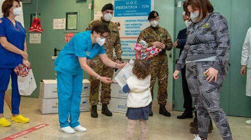 """Nocera. Uova di cioccolato ai bambini del reparto di pediatria, l'iniziativa è del """"Vulture"""""""