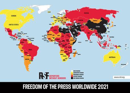 Reporter Senza Frontiere: giornalismo ostacolato in oltre 130 Paesi