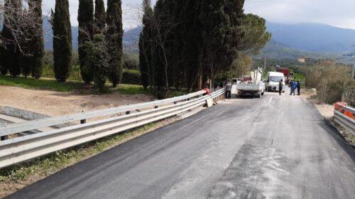 Riapre la SP 428 fra Macchia e Monticelli