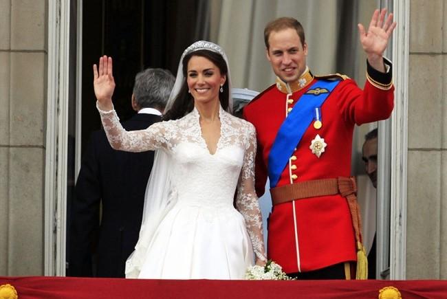 Il 29 aprile del 2011 il figlio di Carlo d'Inghilterra e Lady D William sposa Kate Middleton