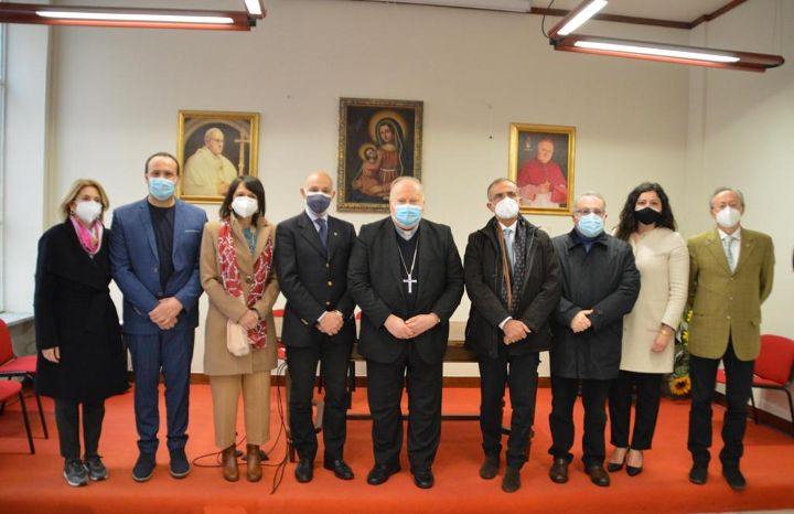 Cava de'Tirreni, Cittadella della carita': alla Caritas la firma del protocollo di intesa