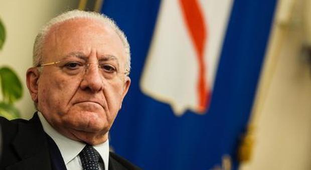 Conferenza Stato/Regioni: recovery plan, De Luca chiede di eliminare l'abuso d'ufficio