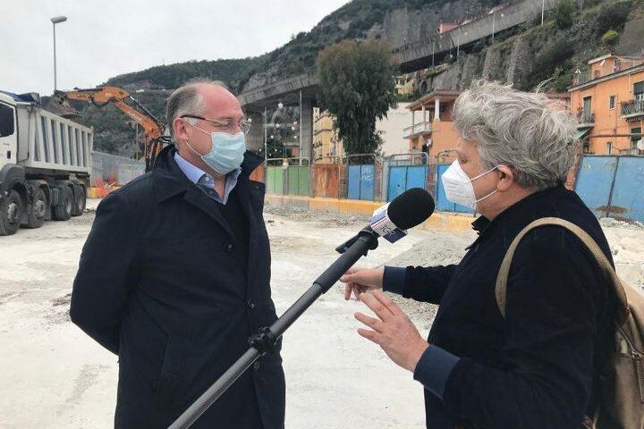 Ambiente. Strianese su Grande Progetto e sui lavori di collegamento dei reflui da Cetara a Salerno