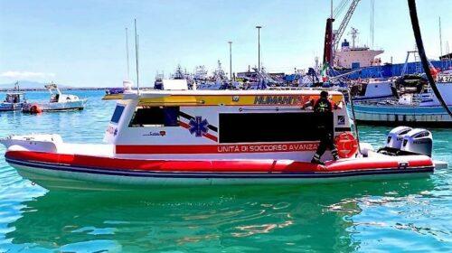 Ambulanza del mare di rianimazione, sabato presentazione ad Amalfi