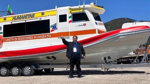 Salerno si dota dell'ambulanza del mare di rianimazione