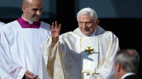 Il 24 aprile del 2005 prima Santa Messa da Papa per Benedetto XVI