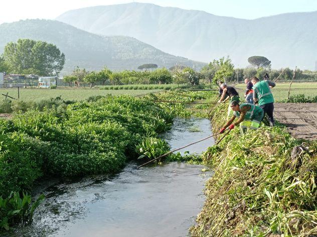 Nocera Inferiore, ultimati i lavori sul Rio Pennacchio e Vasca Pignataro