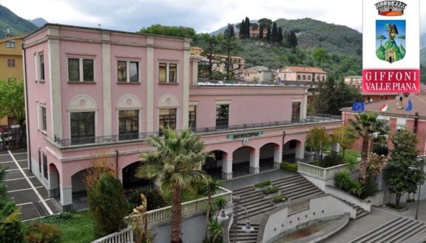 Covid a Giffoni Valle Piana, sindaco e dipendenti in quarantena