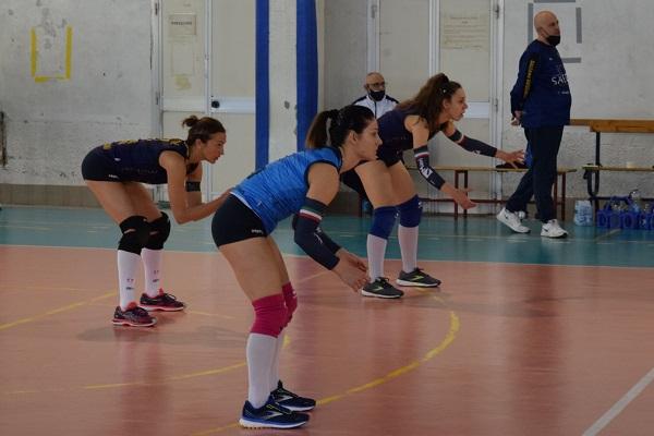 Polisportiva Salerno Guiscards, il team volley non concede scampo al CS Pastena