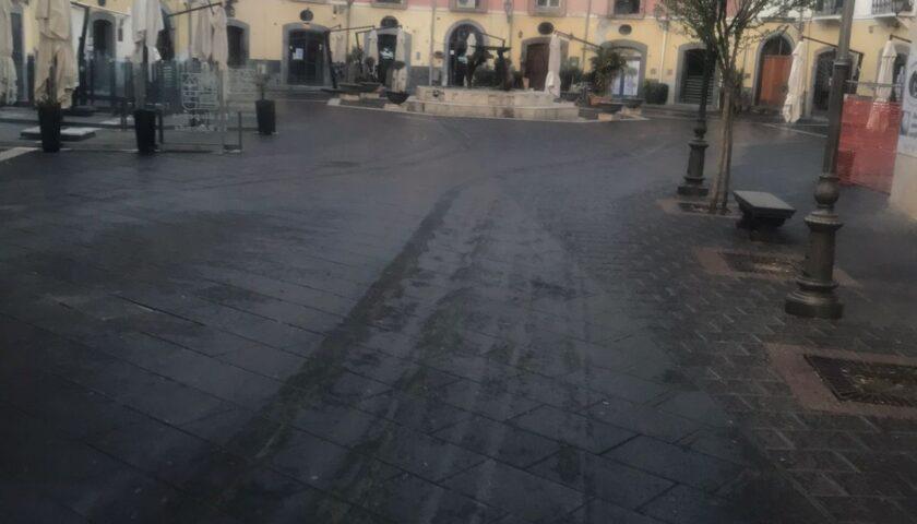 Salerno, città vuota: elevati 11 verbali, 42 automobilisti indisciplinati multati
