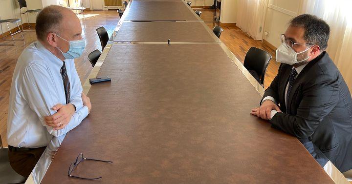Letta incontra Maraio: serve coalizione forte per affrontare prossime sfide