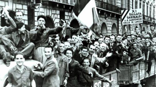 Il 25 aprile 1945 il giorno della Liberazione d'Italia