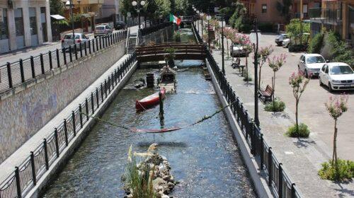 """Lungofiume in traversa Matteotti a Sarno, Rega (Sarno Civica): """"Lavori da terminare proprio in un periodo di circolazione limitata come questo"""""""