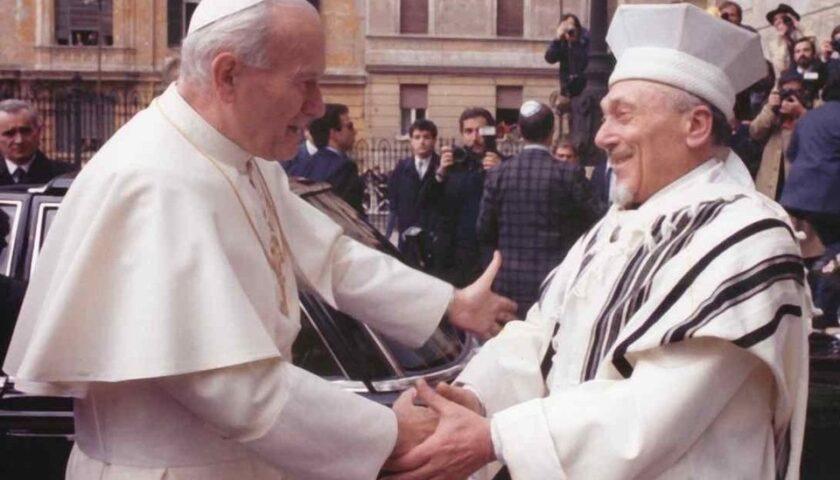Il 13 aprile del 1986 prima visita di un Papa (Giovanni Paolo II) in una Sinagoga