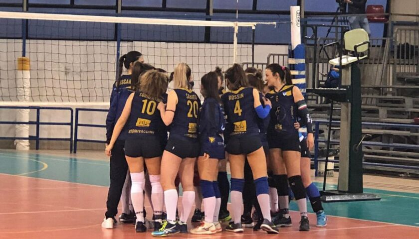Polisportiva Salerno Guiscards, il team volley ingrana la quinta