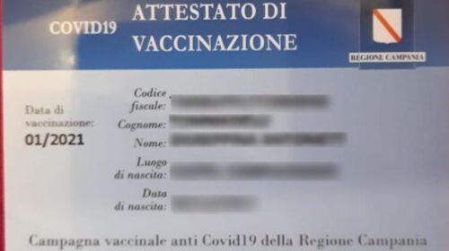 """M5S, Saiello: """"Card vaccinali della Campania doppione di quelle nazionali? Giunta si prende 20 giorni per capirlo"""""""
