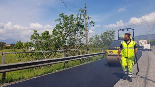 Procedono i lavori per le strade di Nocera Inferiore