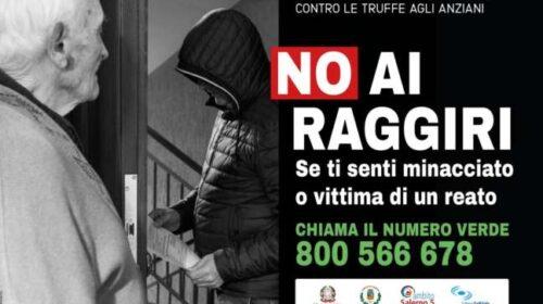 Parte a Salerno la campagna contro le truffe agli anziani