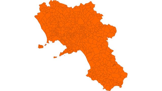 Indice Rt 1,08, Campania rischia zona arancione
