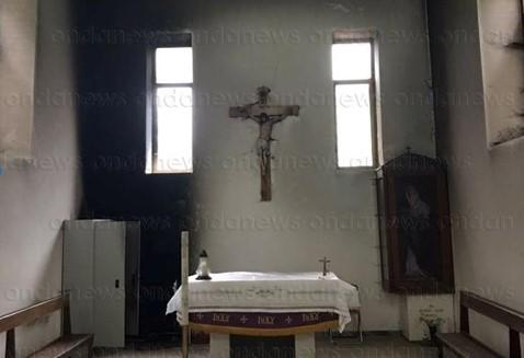 San Rufo, cimitero vandalizzato e cappella incendiata