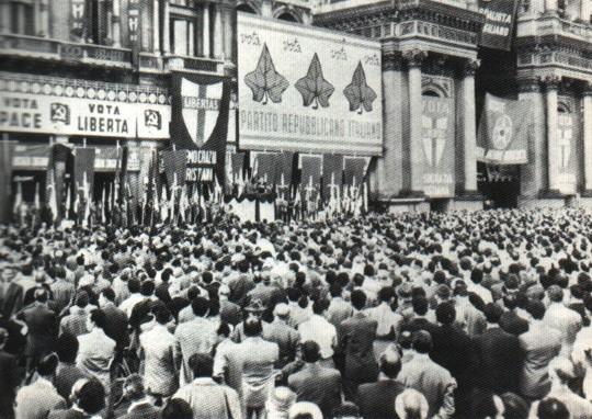 Il 18 aprile del 1948 al voto quasi 30 milioni di italiani, prima volta per le donne dopo il Referendum
