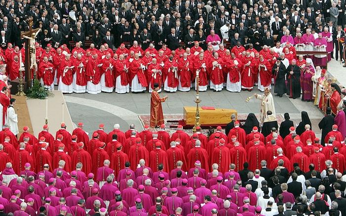 L'8 APRILE 2005 IL PIÙ GRANDE FUNERALE DELLA STORIA ALLA MORTE DI GIOVANNI PAOLO II