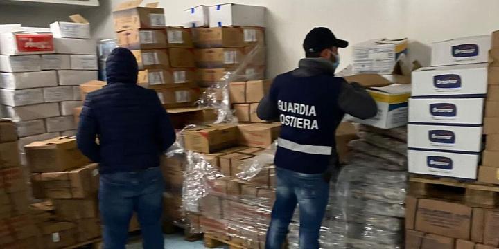 A Capaccio sequestrati prodotti ittici senza tracciabilita'
