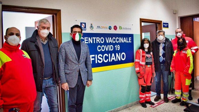 A Fisciano parte il centro vaccinale