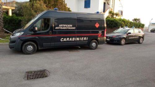 Fatto brillare l'ordigno ritrovato in litoranea a Pontecagnano