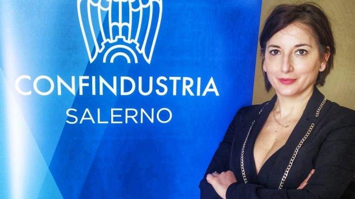 Confindustria Vallo di Diano, Annamaria Curcio coordinatrice