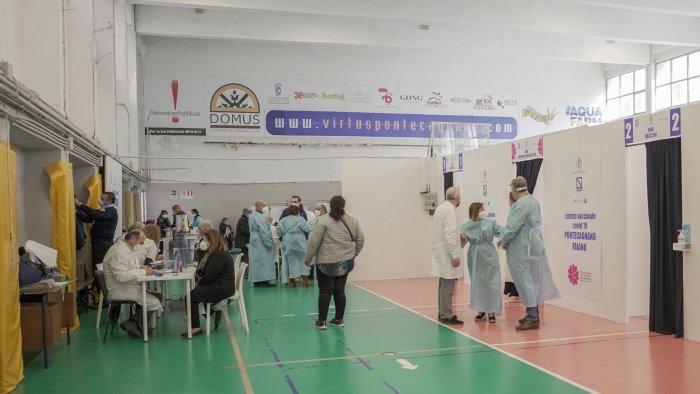 A Pontecagnano 1800 vaccini in 2 fine settimana