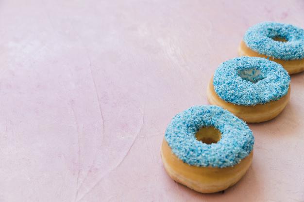 Il cibo dipinto di blu sarà (anche) sano
