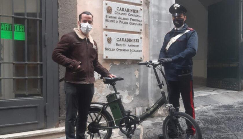 Salerno: preso ladro di biciclette
