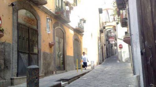 Lavori rete fognaria a Salerno, chiusa al traffico via Botteghelle