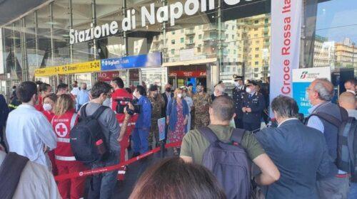 Tamponi gratuiti alla stazione di Napoli per i viaggiatori
