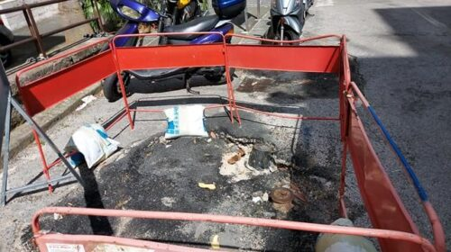 Lavori effettuati e manto stradale non ripristinato in via De Angelus a Salerno, il Codacons denuncia Comune e Salerno Sistemi