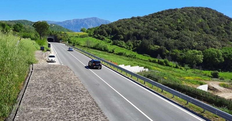Disagi per la chiusura al traffico del tratto di Fondovalle Sele