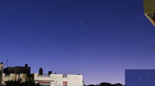 Razzo cinese fotografato nei cieli di Roma, allerta nel Centro Sud d'Italia e nel resto del mondo
