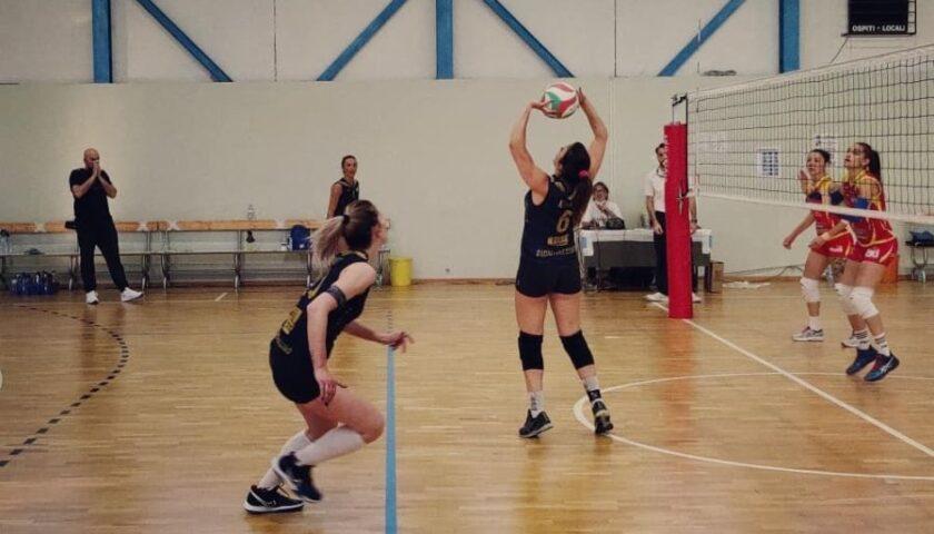 Polisportiva Salerno Guiscards, a Benevento arriva la prima sconfitta stagionale per il team volley