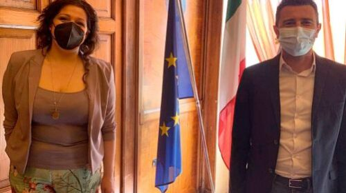 Viabilità, iniziativa per collegare direttamente i Picentini all'A2 e alla Tangenziale, Bilotti (M5S) incontra il sindaco di Pontecagnano
